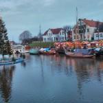 Weihnachtsmarkt in Carolinensiel - Hafen