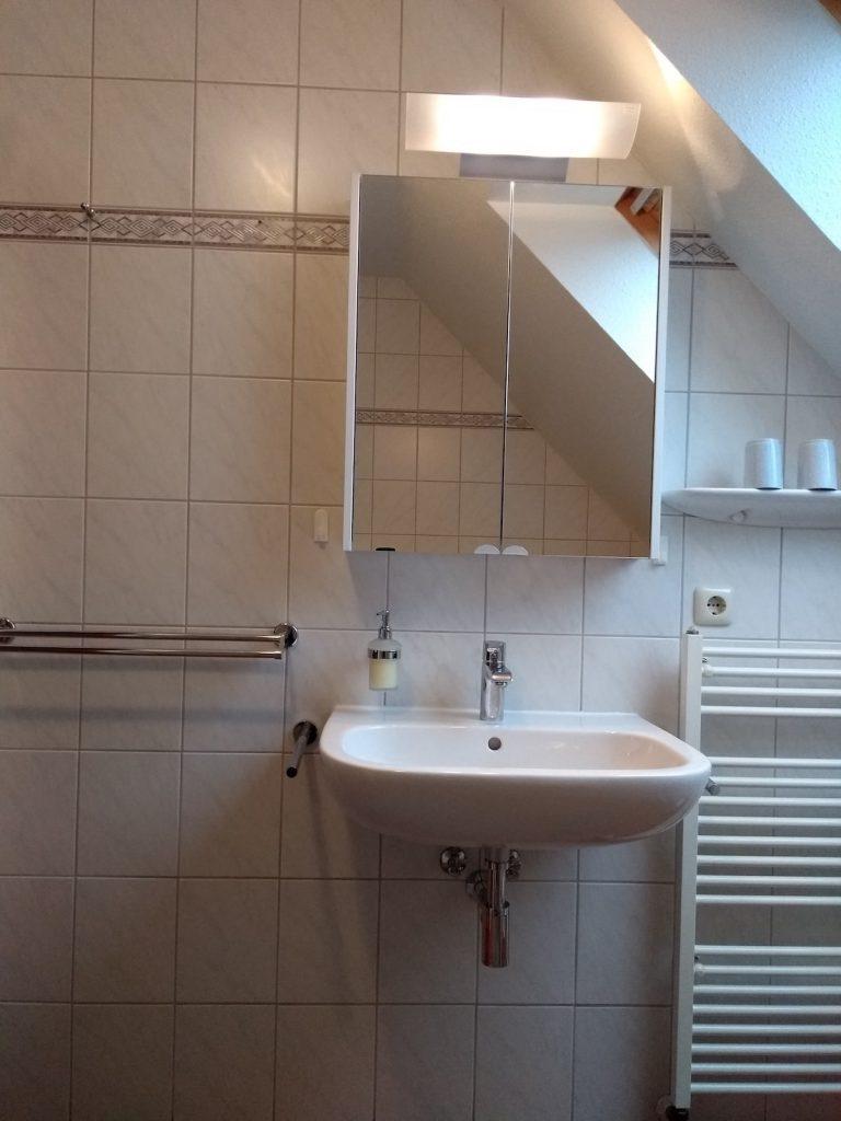 Badezimmer der FeWo Carolinensiel