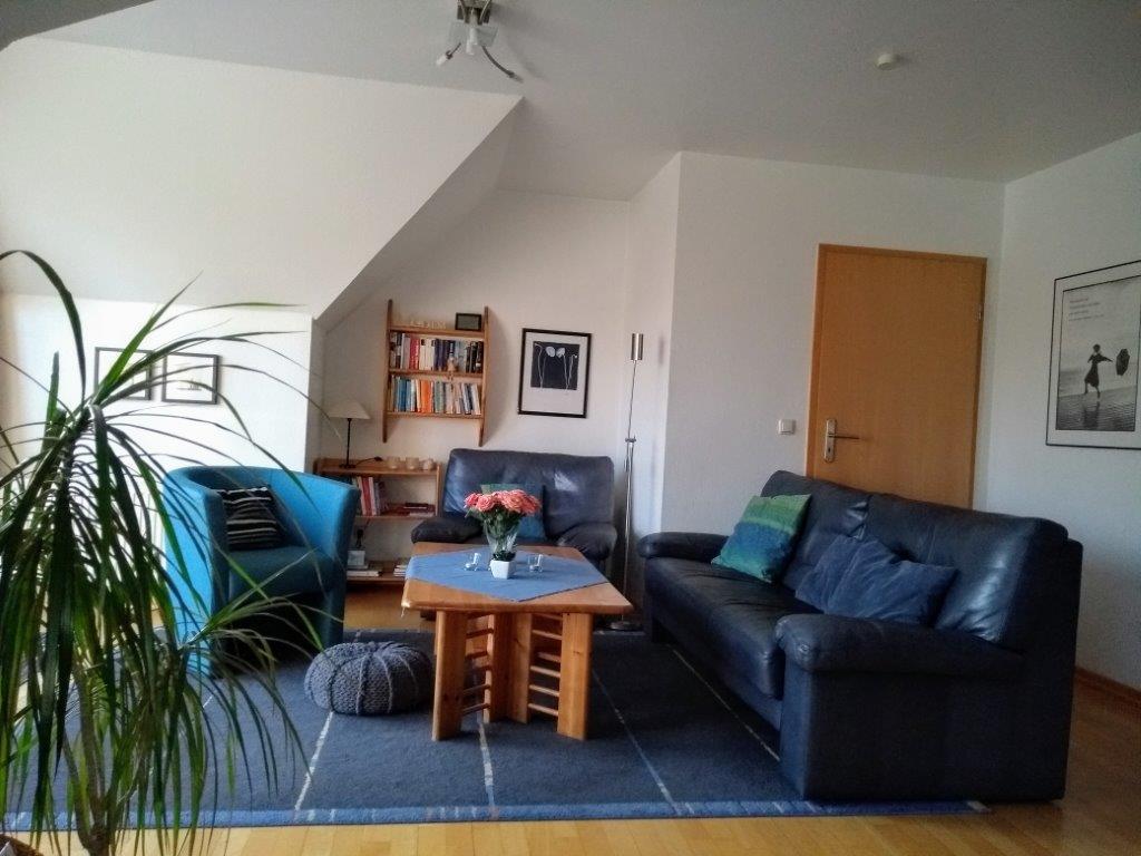 Wohnzimmer - Ferienwohnung Carolinensiel